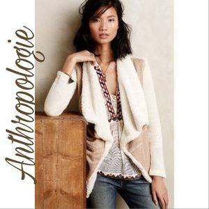 Anthropologie Saturday/ Sunday Sherpa Lined Card